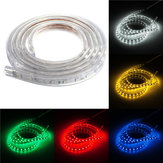 Waterproof IP67 2M 60SMD 5050 Red/Blue/Green/Warm White/White/RGB LED Light Strip 220V