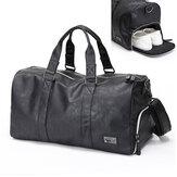 Sacdesportdevoyageen cuir pour hommes, grand sac de rangement pour sac de sport, organisateur