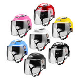 Motorcycle Electrocar Half Face Cycling Outdoor Riding Sports Protection Helmet