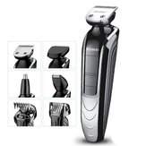 Kemei KM-1832 5 In 1 Electric Hair Clipper Waterproof Rechargeable Electric Shaver Cutter Nose Hair Trimmer Baby Hair Care Hairclipper