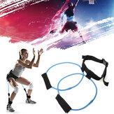 Bande de résistance 30LB Booty Belt Gym Exercise Training Yoga Bande de remise en forme de bout à bout Fitness Health Band