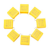 Original 50Pcs 0.47UF Capacitor 50-60HZ 310VAC Polypropylene Film Safety Capacitors