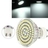 GU10 5W LED Spotlightt Pure White 80 3528 400LM Spotlightts Bulbs Lamps AC 220V