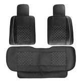 Original Universal Car SUV 5-Seats PU Leather Seat Cover Front Rear Cushion Rear Pillows