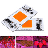 50W Full Spectrum Thunder Protection Smart IC Control LED COB Grow Light Chip for Plant AC220-240V