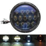 7 Inch 10000LM Round LED 150W Headlights Lamp Hi/Low Beam DRL For Harley/JEEP JK TJ LJ Wrangler