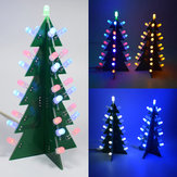 Geekcreit® DIY Star Effect 3D LED Decorative Christmas Tree Kit