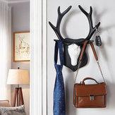 2 Kinds Vintage Deer Antler Hook Rack Home Decorative Wall Hat Coat Hanging Cloth Hanger