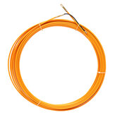 10M/20M/30M 4mm Fiberglass Cable Puller Fish Tape Reel Conduit Ducting Rodder Pulling Puller