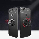 Cubiertatraserafinaapruebade golpes Bakeey ™ protectora Caso con soporte para anillo de dedo para Xiaomi Mi8 Lite