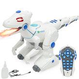 BaileeléctricoRobotdedinosaurioControl remoto con luz Animal Modelo de juguete para niños Niños Regalo de Navidad