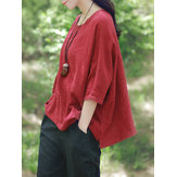 Women Solid Color Shirts