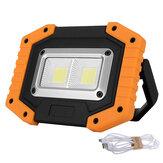 30WLEDCOBalairelibre IP65 Impermeable Luz de trabajo cámping Linterna de emergencia Linterna para reflector