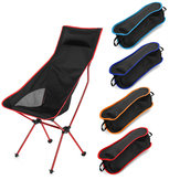 ZANLURE 600D Oxford Ultra-Light Folding Camping Chair Portable Outdoor Fishing Chair BBQ Seat