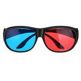 1 Stks Blauw Rood 3D Dimensionale 3D-bril voor Home Theatre Movie Cinema Game Projector Gebruik