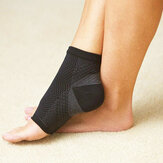 Mens Women Sport Anti Fatigue Angel Circulation Ankle Swelling Relief Compression Foot Sleeve Socks