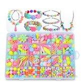 Pop-Arty DIY Ювелирные изделия с бриллиантами из ожерелья из бисера с бриллиантами Коробка Snap-Together Pop Jigsaw Puzzle Toy Gift