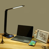 LED Desk Lamp Touch Control Table Reading Light Office Study Eye-protection Lamp AC220V