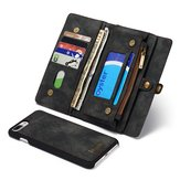 Caseme Zipper Wallet Magnetic Detachable Case For iPhone 7 Plus/8 Plus