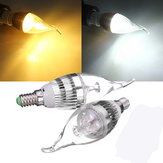 E14 3W Dimmable 300-330LM LED Chandelier Candle Light Bulb 220V