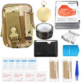 185Pcs Survival Tools Kit Emergency Survival Kit Multi-Tools First Aid Supplies Survival Gear EDC Gadget Tool Set  for Camping Hiking Hunting SOS