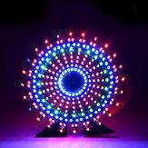 Geekcreit® Ferris Wheel Model Music Spectrum DIY Kit Electronic 51 Single-chip Colorful LED Flash Kit