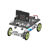 Original YahBoom Micro: bit DIY 9 en 1 Bloque programable Seguimiento de obstáculos Evitación de obstáculos Smart Robot Kit de RC