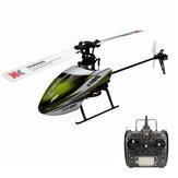 XK K100 Falcom 6CH Sistema Flybarless 3D6G RC Helicóptero RTF