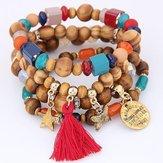 Original Retro Mix Color Beaded Bracelet