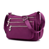 Women Leisure Waterproof Nylon Crossbody Bag Shoulder Bag