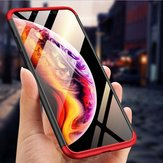 Original Bakeey™ 3 in 1 Double Dip 360° Hard PC Protective Case For iPhone XS Max