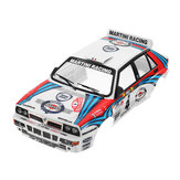 Original Killerbody Coche Shell 48248 Lancia Delta Rally-Racing Impreso 1/10 Electric Touring RC Coche Piezas