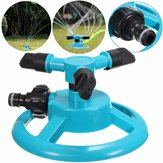 1/2 Inch Three Heads Rotation Sprinkler Garden Lawn Watering Irrigation Spraying Nozzle