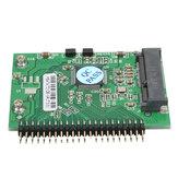 MSATA mini-pci-e ssd à 1.8inch 44 broches adaptateur ide disque dur carte de carte de convertisseur