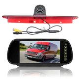 Moniteur de caméra de vue arrière de voiture de 7 pouces w / kit de caméra de recul de la lumière de freinage Fit Mercedes Sprinter