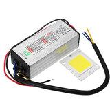 AC100-265V a DC20-40V 50W Impermeable LED Fuente de alimentación del conductor con la viruta de SMD
