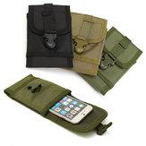 Multifunzionali portatili cinture di stoffa Oxford sacchetto marsupio per il telefono sotto 5.7 pollici