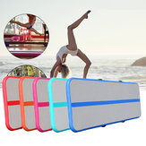 118x16x6inch Inflatable Floating Airtrack Gymnastics Mat Air Tumbling Inflatable GYM Air Track Mat