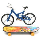 Tech Deck bicicleta dedo de la bicicleta y del consejo dedo niños del cabrito chico rueda de juguete de regalo