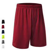 Loose Breathable Running Basketball Shorts Quick Dry Rodilla longitud Sports Pantalones para hombres