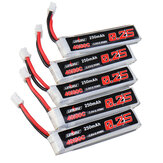 5Pcs URUAV 3.8V 250mAh 40C/80C 1S Lipo Battery PH2.0 for Eachine US65 UK65 URUAV UR65 Mobula7