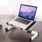 El soporte del portátil levanta el soporte de la base Placa para ajustar el soporte de escritorio del soporte de la computadora portátil de levantamiento