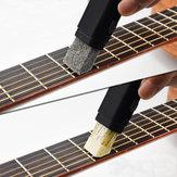 Strumento di Pulizia di Ruggine a Doppio Uso per Tastiera Corda di Chitarra Bass