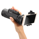 Universal 12x50 Hiking Concert Camera Lens Telescope Monocular With/No Holder For Smartphone