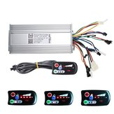 36V/48V 500W/600W Dual-mode Electric Scooter Bike Controller with 790 LED Control Panel