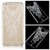 GP Transparent Ultra Thin Colored Drawing PC Protective Sleeve For iPhone 6 Plus 6S Plus 5.5 Inch