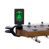 IRIN Accordeur de guitare portable T-100 Tuning pour guitare basse violon ukulélé