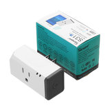 SONOFF® S31 US 16A Mini WIFI Smart Socket Home Power Consumption Measure Monitor Energy Usage App Remote IFTTT Control With Alexa