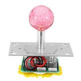 Original Blanco LED Empuje Botones Joystick USB Encoder Arcade Game Console DIY Kits Piezas de repuesto