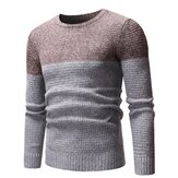 Mens Cotton Wool Long Sleeve Casual Sweaters